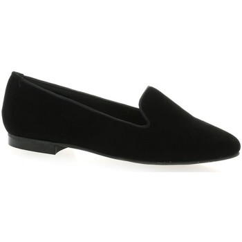 Chaussures Femme Mocassins We Do Mocassins cuir velours Noir