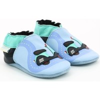 Chaussures Fille Chaussons Robeez SCOOTER Bleu