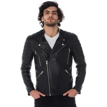 Vêtements Homme Vestes en cuir / synthétiques Serge Pariente GLADIATOR AG BLACK Noir
