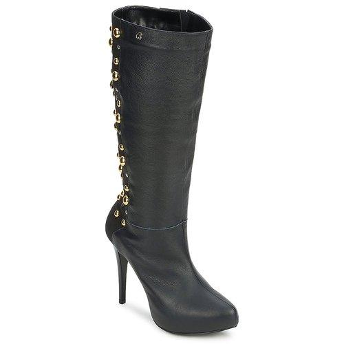 Chaussures Femme Bottes ville Carmen Steffens 9112399001 Noir