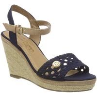 Chaussures Femme Espadrilles Tom Tailor 4890805 bleu