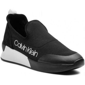 Chaussures Femme Slip ons Calvin Klein Jeans e4451 noir