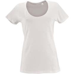 Vêtements Femme T-shirts manches courtes Sols METROPOLITAN CITY GIRL Blanco