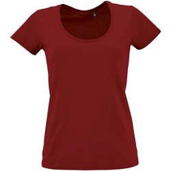 Vêtements Femme T-shirts manches courtes Sols METROPOLITAN CITY GIRL Rojo