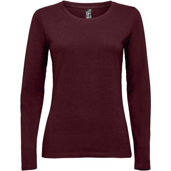 Vêtements Femme T-shirts manches longues Sols MAJESTIC COLORS GIRL violeta