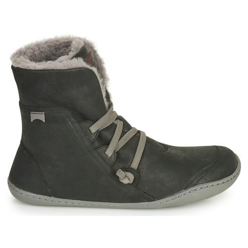 Femme Chaussures Peu Boots Noir Camper Cami NOXZ0w8Pkn