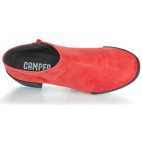 Camper Lotta Rouge - Livraison Gratuite- Chaussures Bottine Femme 95