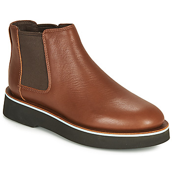 Chaussures Femme Boots Camper TYRA chelsea Medium Brown