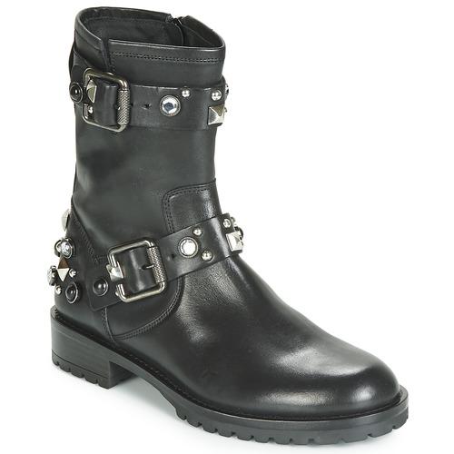 Chaussures Femme Boots Tosca Blu GISELLE Noir