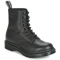 Chaussures Femme Boots Dr Martens 1460 PASCAL MONO Noir
