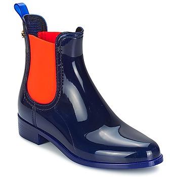 Bottines / Boots Lemon Jelly PISA Bleu / Orange 350x350