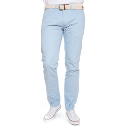 Vêtements Homme Chinos / Carrots Geographical Norway Pantalon Chino Proud Sky Bleu