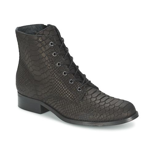 Boots Moletta Femme Biz Noir Chaussures Shoe 8ymwOvNn0