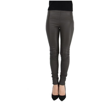 Collants Oakwood Pantalon Antares en cuir ref_cco43984 Kaki foncé