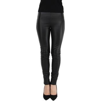 Collants Oakwood Pantalon Antares en cuir ref_cco43984 Noir