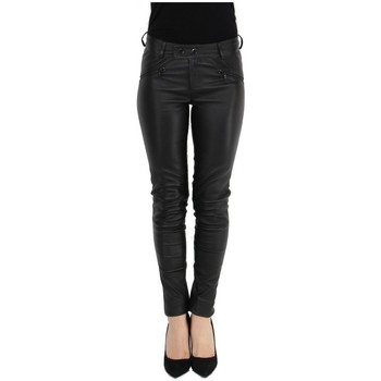 Collants Oakwood Pantalon Univers en cuir ref_cco43986 Noir