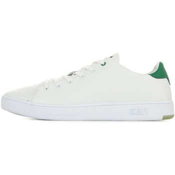 Chaussures Baskets basses Smiley Enjoy Ss1m Green blanc