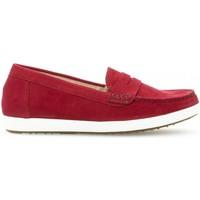 Chaussures Femme Mocassins Gabor Mocassins nubuck Rouge