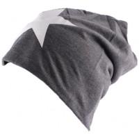 Accessoires textile Homme Bonnets Divers Bonnet Biker Oversize Gris avec étoile Gris