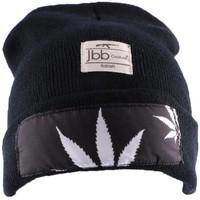 Bonnets Jbb Couture Bonnet  noir avec impréssion