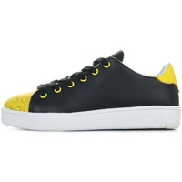 Chaussures Enfant Baskets mode Smiley Enjoy noir