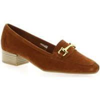 Chaussures Femme Mocassins We Do Mocassins cuir velours Cognac