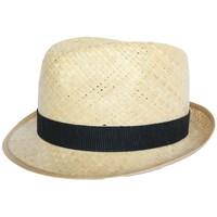 Accessoires textile Homme Chapeaux Olney Headwear Limited Chapeau paille Georges en raphia naturel Beige