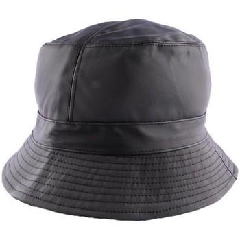 Chapeaux Nyls Création Chapeau de pluie mixte Earth Noir