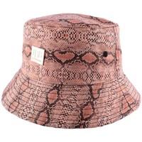 Accessoires textile Chapeaux Jbb Couture Bob  imitation serpent Orangé Orange
