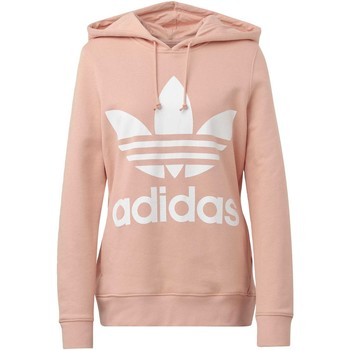 Vêtements Femme Sweats adidas Originals Sweat-shirt à capuche Trefoil rose
