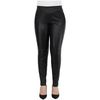 Collants Oakwood Pantalon Energy en cuir ref_cco44010 Noir