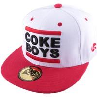 Accessoires textile Homme Casquettes Coke Boys Snapback  Rouge et Noire Blanc