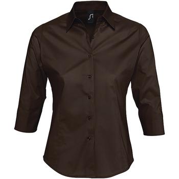 Vêtements Femme Chemises / Chemisiers Sols EFFECT ELEGANT Marr?n