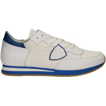 Chaussures Homme Baskets basses Philippe Model TRLUNV05 BLANC