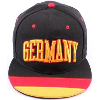 Accessoires textile Homme Casquettes Pays Casquette Snapback Allemagne Noire Jaune Rouge Noir