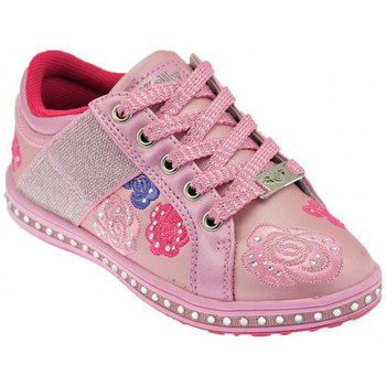 Chaussures Enfant Baskets basses Lelli Kelly Rose Baskets basses rose