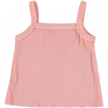 Vêtements Fille Débardeurs / T-shirts sans manche Buho Débardeur bébé coton MIA Rose