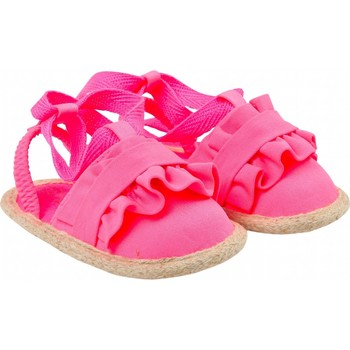 Chaussures Fille Sandales et Nu-pieds Billieblush / Billybandit Sandalettes bébé à nouer Fushia