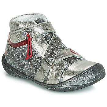 Chaussures Fille Boots GBB NADETTE Argenté