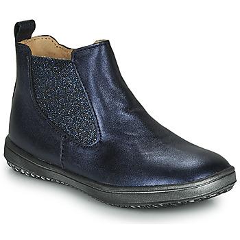 Chaussures Fille Boots Achile SARA MArine