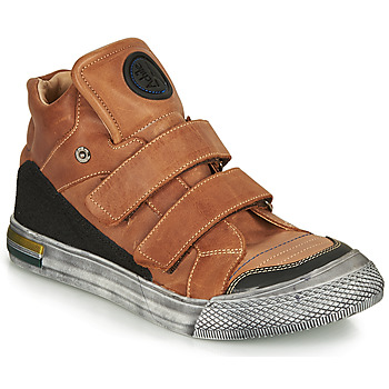 Chaussures Garçon Baskets montantes Achile HUGO Marron