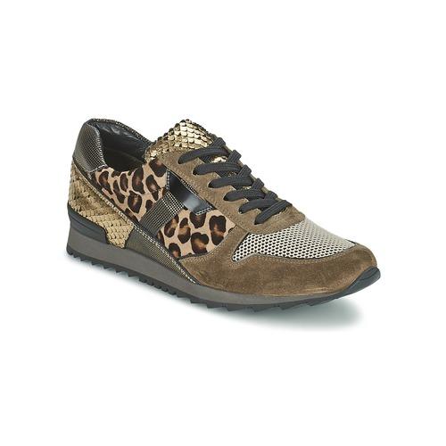 Chaussures Femme Baskets basses Kennel + Schmenger LIZAN Camel