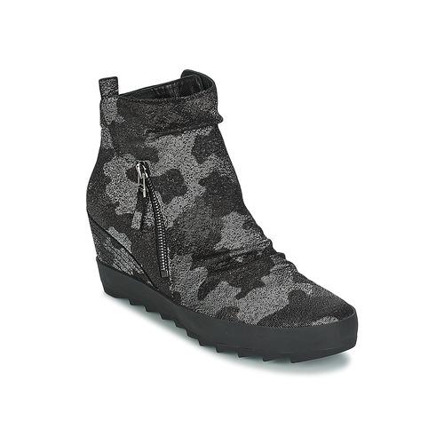 Chaussures Femme Boots Kennel + Schmenger ALISA Gris