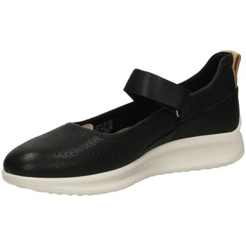 Chaussures Femme Ballerines / babies Ecco AQUET LADIES black-nero