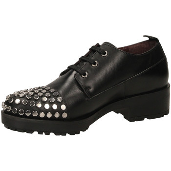 Chaussures Femme Derbies Apepazza BROOK nero-nero