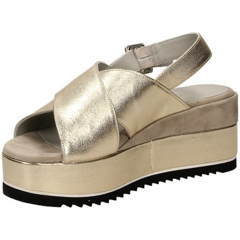 Chaussures Femme Sandales et Nu-pieds Carmens Padova ELISI DAILY plati-platino