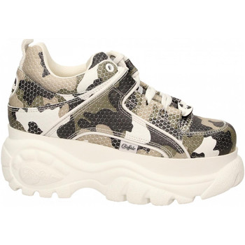 Chaussures Femme Baskets basses Buffalo 1339-14 LEATHER camouflage