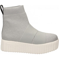 Chaussures Femme Baskets montantes Fessura HI-LINE KNIT silver-ice