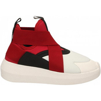 Chaussures Femme Baskets montantes Fessura HI-TWINS BEAT white-black