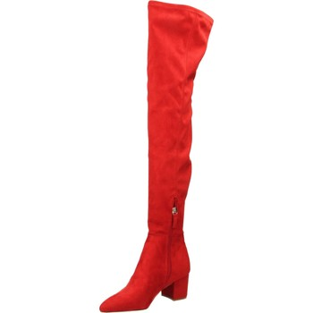 Chaussures Femme Cuissardes Steve Madden BOLTED red-rosso